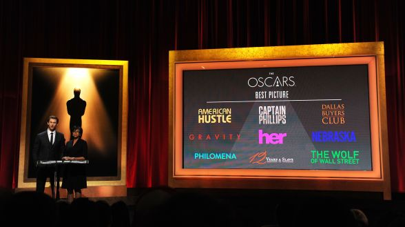 US-ENTERTAINMENT-ACADEMY AWARDS-NOMINATION ANNOUNCEMENT